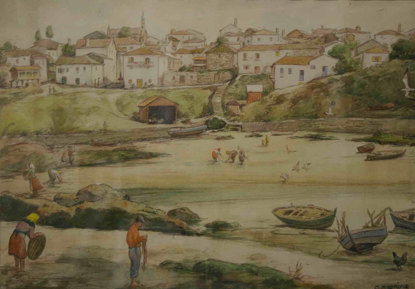 Paisaje de Pontevedra - Carlos Sobrino