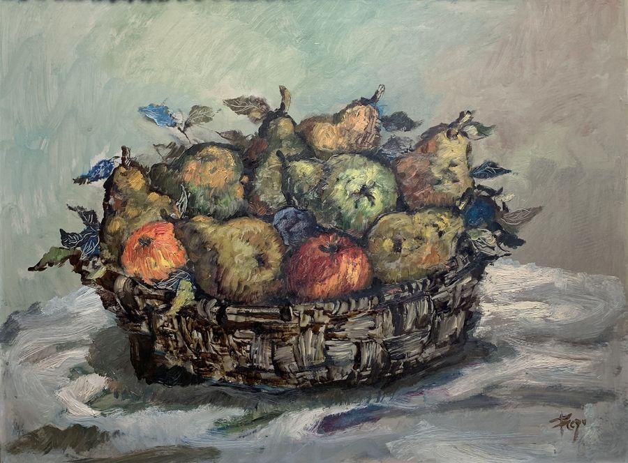 Bodegón con frutas - Manuel Prego