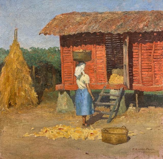 Xavier Pousa - Recollendo millo